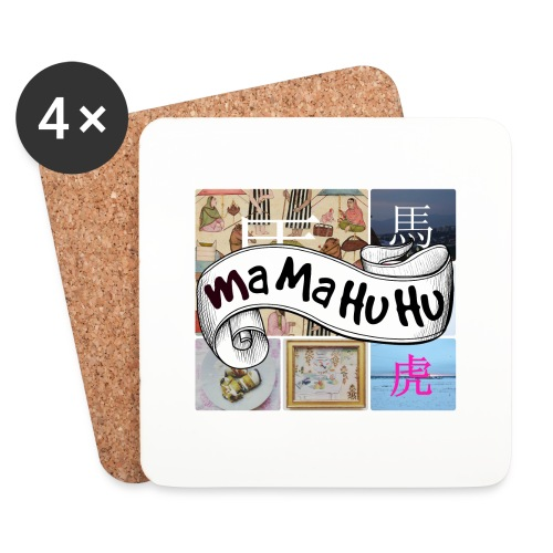 Ma ma hu hu / So-so - Lasinalustat (4 kpl:n setti)