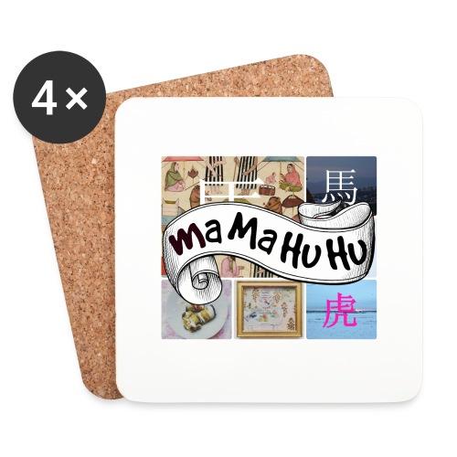 Ma ma hu hu / So-so phonecase - Lasinalustat (4 kpl:n setti)