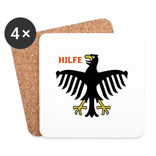 Deutschland in Not - Untersetzer (4er-Set)