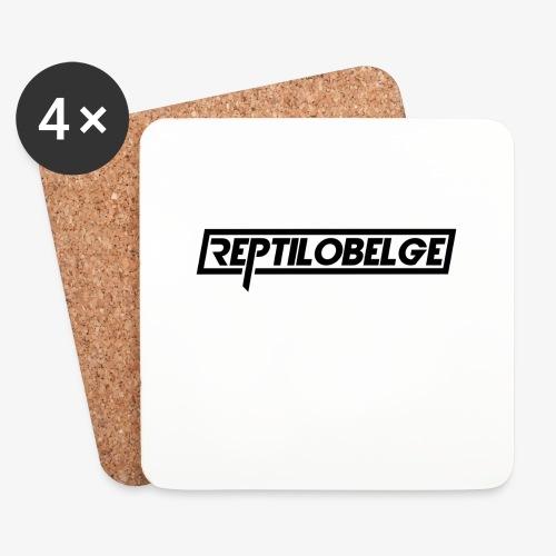 M1 Reptilobelge - Dessous de verre (lot de 4)
