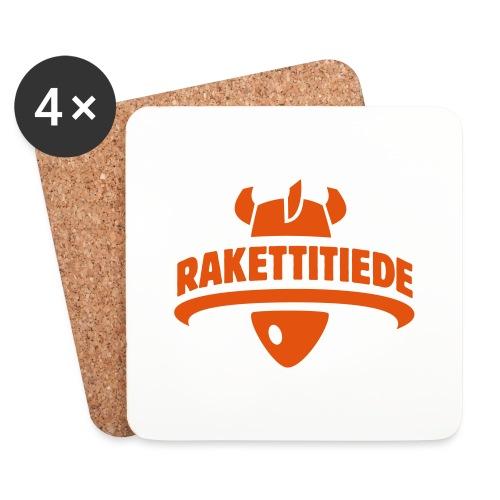 Rakettitiede only - Lasinalustat (4 kpl:n setti)