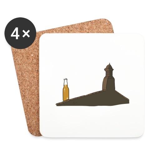 Habemus Beer Hoodies - Untersetzer (4er-Set)