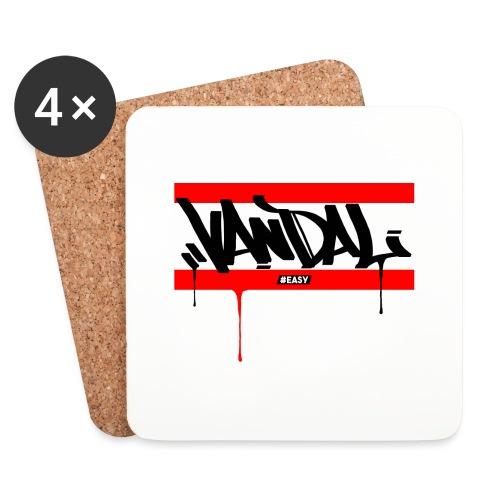 #EASY Graffiti Vandal T-Shirt - Sottobicchieri (set da 4 pezzi)