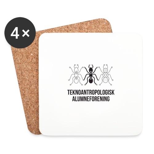Teknoantropologisk Støtte T-shirt alm - Glasbrikker (sæt med 4 stk.)