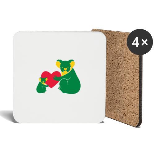 Koala Heart Baby - Coasters (set of 4)