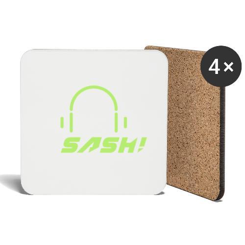 DJ SASH! - Headfone Beep - Coasters (set of 4)