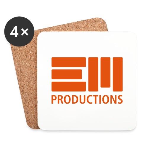 EM Productions Logo 2016 - Untersetzer (4er-Set)