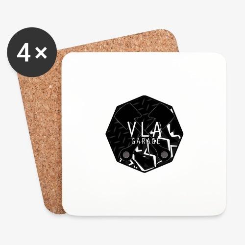 VLA GARAGE - Lasinalustat (4 kpl:n setti)