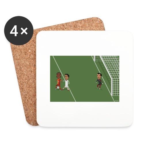 Backheel goal BG - Coasters (set of 4)