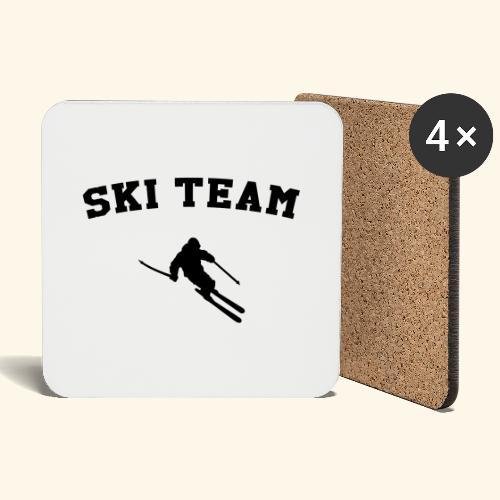 ski team - Dessous de verre (lot de 4)