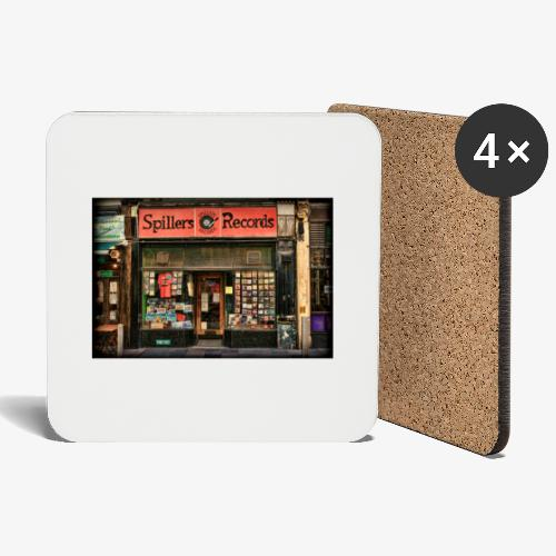 Spillers Records Shop - Coasters (set of 4)