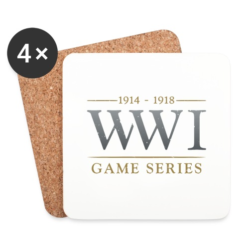WW1 Game Series Logo - Onderzetters (4 stuks)