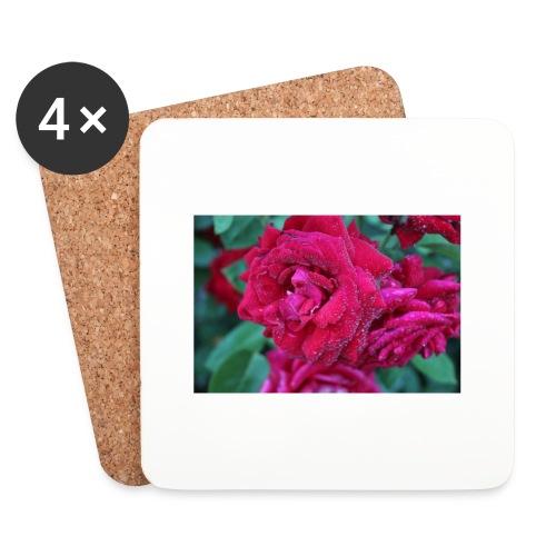 Rosa preciosa - Posavasos (juego de 4)