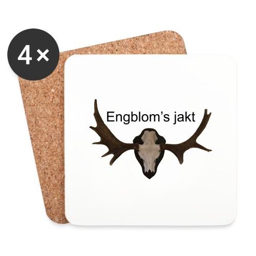Älg - Underlägg (4-pack)