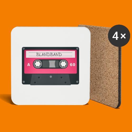 Blandband 80-tal - Underlägg (4-pack)