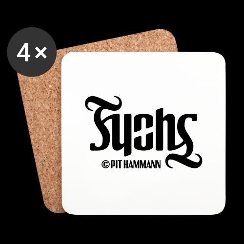 Ambigramm Fuchs 01 Pit Hammann - Untersetzer (4er-Set)