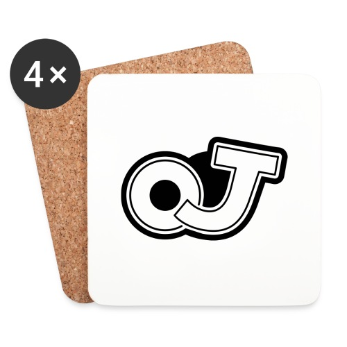 OJ_logo - Onderzetters (4 stuks)