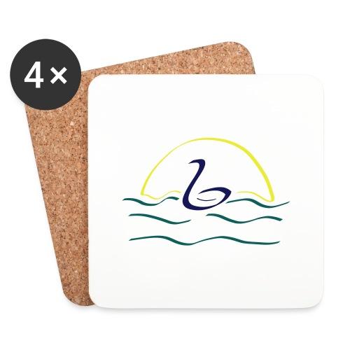 Swan - Onderzetters (4 stuks)