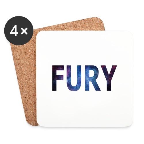 FURY - Glasbrikker (sæt med 4 stk.)