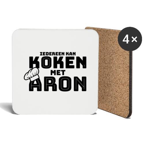 Koken met Aron - Onderzetters (4 stuks)