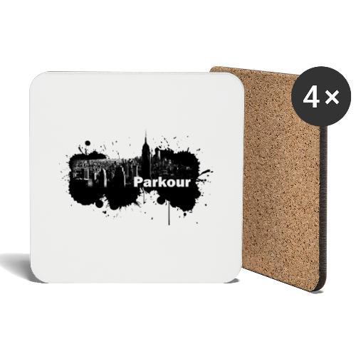 Parkour Splash New York - Glasbrikker (sæt med 4 stk.)