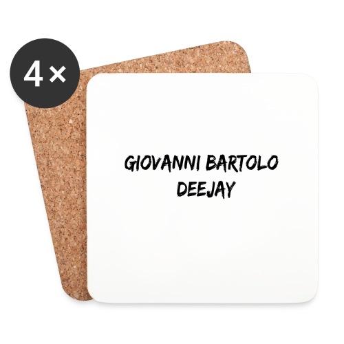Giovanni Bartolo DJ - Sottobicchieri (set da 4 pezzi)