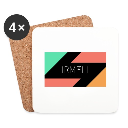Irmelis Logo glothes - Lasinalustat (4 kpl:n setti)