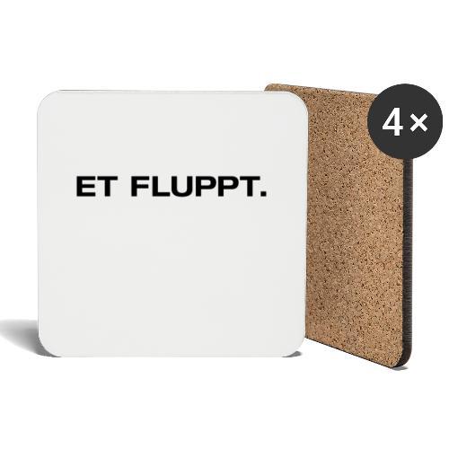 Et fluppt. - Untersetzer (4er-Set)