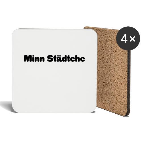 Minn Städtche - Untersetzer (4er-Set)