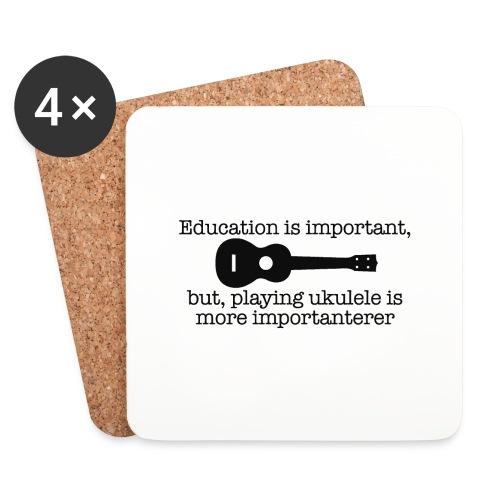 Important Ukulele - Coasters (set of 4)