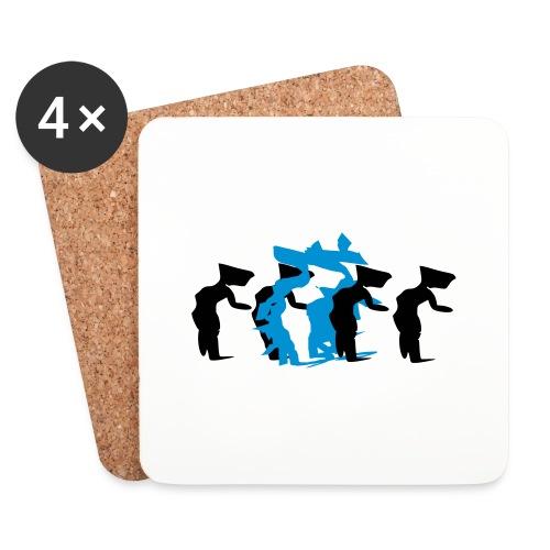 through - Coasters (set of 4)