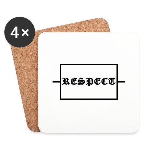 Widerstand für RESPECT - Untersetzer (4er-Set)