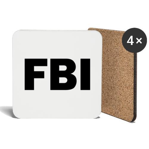 FBI - Dessous de verre (lot de 4)