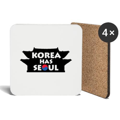 Korea has Seoul - Untersetzer (4er-Set)
