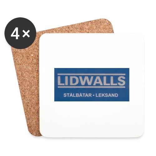 Lidwalls Stålbåtar - Underlägg (4-pack)