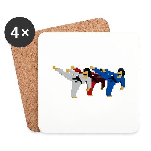 8 bit trip ninjas 2 - Coasters (set of 4)