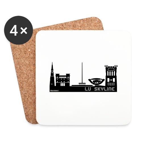 Lu skyline de Terni - Sottobicchieri (set da 4 pezzi)