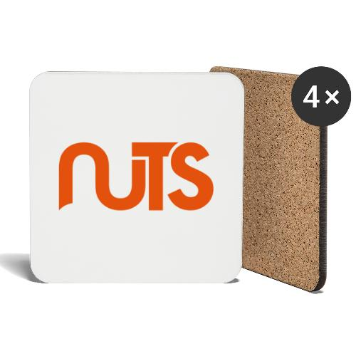 Nuts logo - Onderzetters (4 stuks)