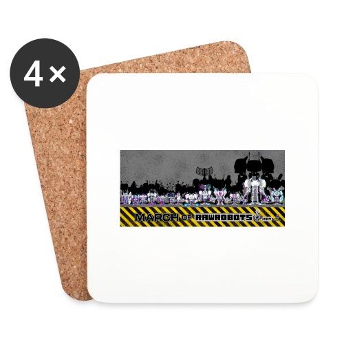 #MarchOfRobots ! LineUp Nr 2 - Glasbrikker (sæt med 4 stk.)