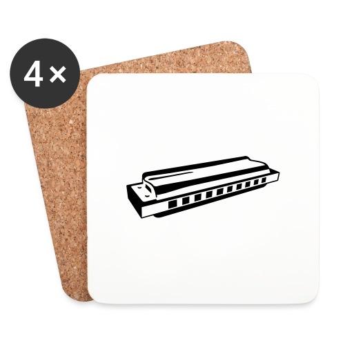 Harmonica - Coasters (set of 4)