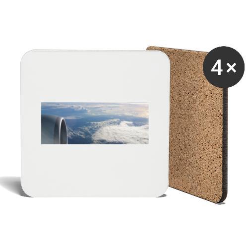 Flugzeug Himmel Wolken Australien - Untersetzer (4er-Set)