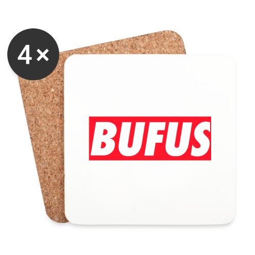 BUFUS - Sottobicchieri (set da 4 pezzi)