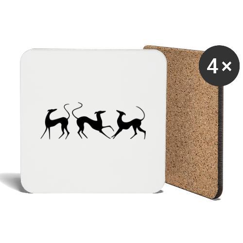 Windhundfries - Untersetzer (4er-Set)