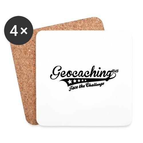 Geocaching - Face the Challenge - Untersetzer (4er-Set)