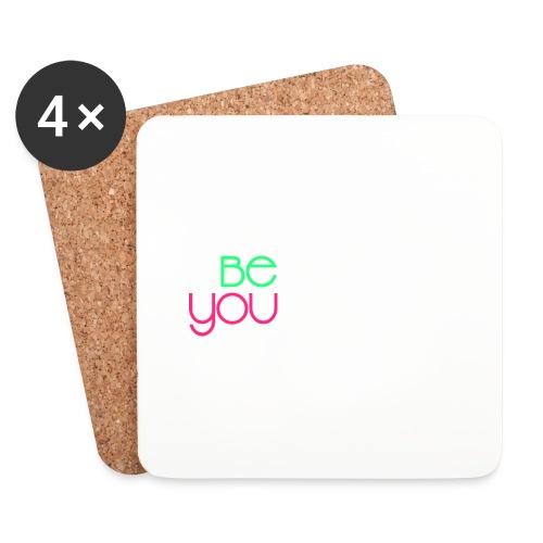 be you - Sottobicchieri (set da 4 pezzi)