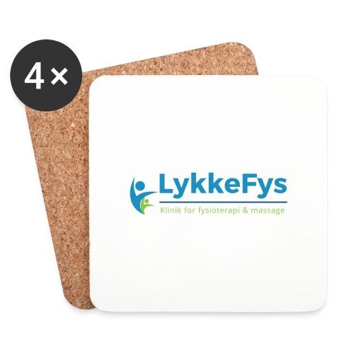 Lykkefys Esbjerg - Glasbrikker (sæt med 4 stk.)