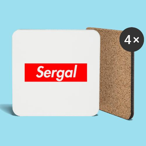 SERGAL Supmeme - Untersetzer (4er-Set)
