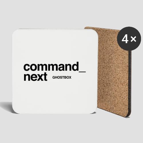 Command next - Untersetzer (4er-Set)