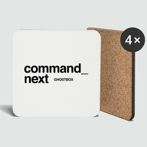 Command next – Ghostbox Staffel 2 - Untersetzer (4er-Set)