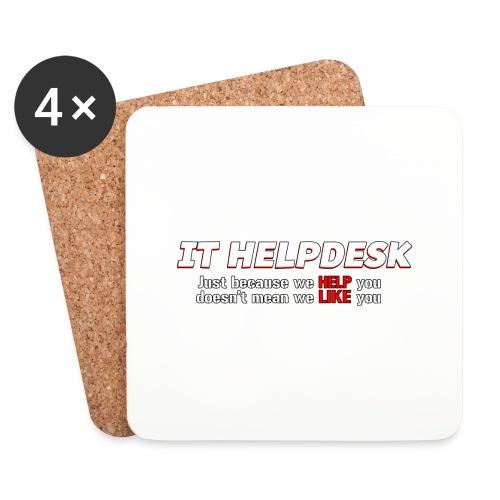 I.T. HelpDesk - Coasters (set of 4)